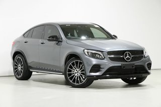 2019 Mercedes-Benz GLC250 253 MY19 Grey 9 Speed Automatic G-Tronic Coupe.