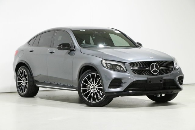 Used Mercedes-Benz GLC250 253 MY19 , 2019 Mercedes-Benz GLC250 253 MY19 Grey 9 Speed Automatic G-Tronic Coupe