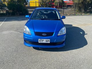 2008 Kia Rio JB MY07 EX Blue 5 Speed Manual Sedan.
