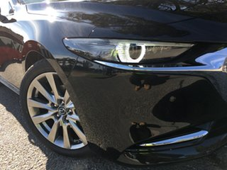 2020 Mazda 3 BP2SHA X20 SKYACTIV-Drive Astina Jet Black 6 Speed Sports Automatic Sedan.