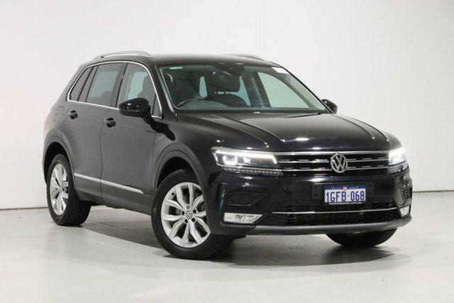 Used Volkswagen Tiguan 5NA 140 TDI Highline, 2016 Volkswagen Tiguan 5NA 140 TDI Highline Black 7 Speed Auto Direct Shift Wagon