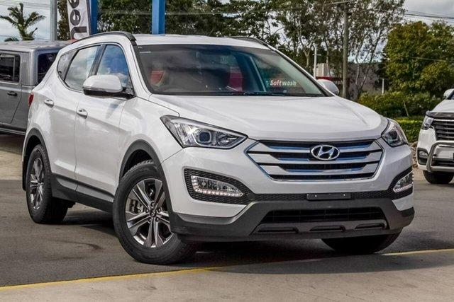 Used Hyundai Santa Fe DM2 MY15 Active, 2015 Hyundai Santa Fe DM2 MY15 Active Creamy White 6 Speed Sports Automatic Wagon