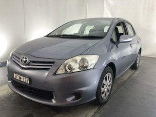 2010 Toyota Corolla ZRE152R MY11 Ascent Grey 6 Speed Manual Hatchback