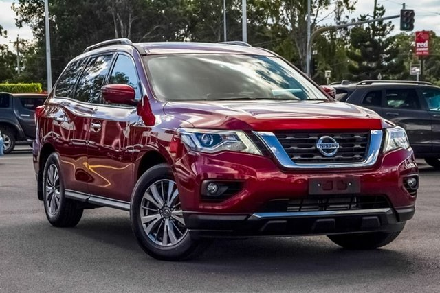 Used Nissan Pathfinder R52 Series III MY19 ST-L X-tronic 2WD, 2019 Nissan Pathfinder R52 Series III MY19 ST-L X-tronic 2WD Redstone 1 Speed Constant Variable