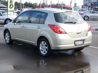 2008 Nissan Tiida C11 MY07 ST-L Beige 6 Speed Manual Hatchback