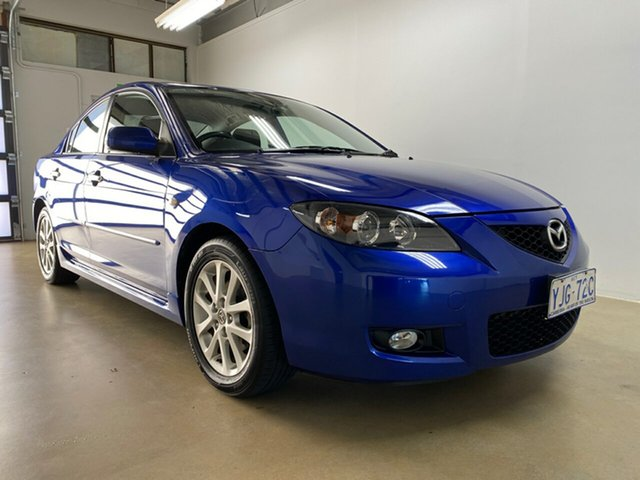 Used Mazda 3 BK MY08 Maxx Sport, 2008 Mazda 3 BK MY08 Maxx Sport Blue 5 Speed Manual Sedan