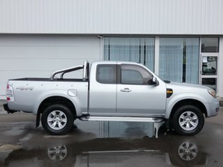 2011 Ford Ranger PK XLT Super Cab Silver 5 Speed Manual Pick Up