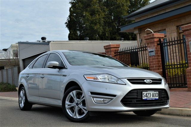 Used Ford Mondeo MC Zetec PwrShift EcoBoost, 2012 Ford Mondeo MC Zetec PwrShift EcoBoost Silver 6 Speed Sports Automatic Dual Clutch Hatchback