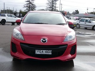 2012 Mazda 3 BL10F2 Neo Red 6 Speed Manual Sedan.