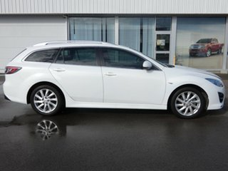 2012 Mazda 6 GH1022 MY12 White 6 Speed Manual Wagon
