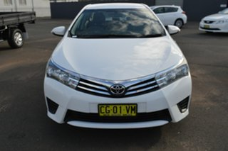 2016 Toyota Corolla ZRE172R Ascent 7 Speed CVT Auto Sequential Sedan.