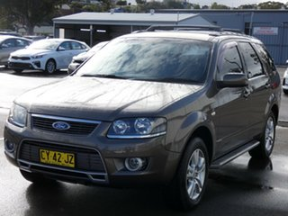 2011 Ford Territory SY MkII TS AWD Brown 6 Speed Sports Automatic Wagon.