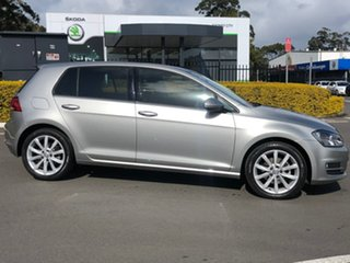 2015 Volkswagen Golf VII MY15 110TDI DSG Highline Silver 6 Speed Sports Automatic Dual Clutch.