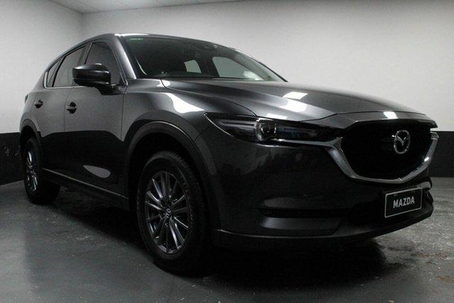 Used Mazda CX-5 KF4W2A Maxx SKYACTIV-Drive i-ACTIV AWD Sport, 2017 Mazda CX-5 KF4W2A Maxx SKYACTIV-Drive i-ACTIV AWD Sport Grey 6 Speed Sports Automatic Wagon