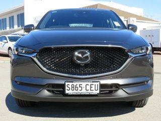 2019 Mazda CX-5 KF4W2A Akera SKYACTIV-Drive i-ACTIV AWD Grey 6 Speed Sports Automatic Wagon.