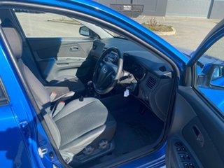 2008 Kia Rio JB MY07 EX Blue 5 Speed Manual Sedan