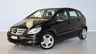 2011 Mercedes-Benz B-Class W245 MY11 B180 CDI Black 7 Speed Constant Variable Hatchback.