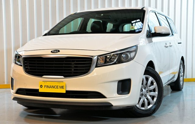 Used Kia Carnival YP MY17 S, 2017 Kia Carnival YP MY17 S White 6 Speed Sports Automatic Wagon
