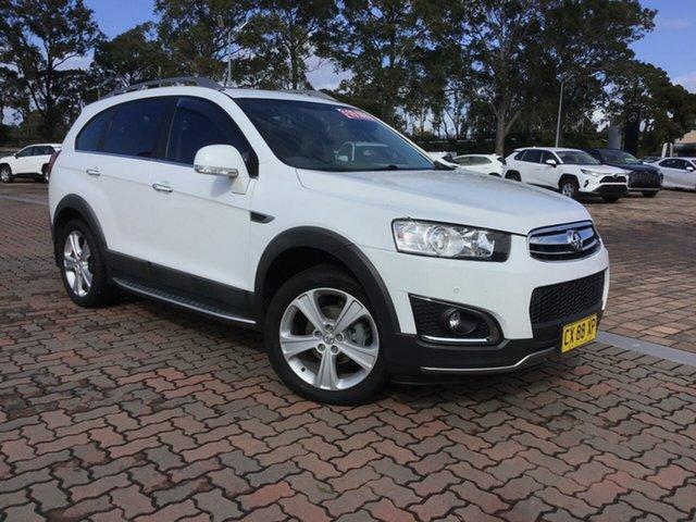 Used Holden Captiva CG MY15 7 AWD LTZ, 2015 Holden Captiva CG MY15 7 AWD LTZ White 6 Speed Sports Automatic SUV