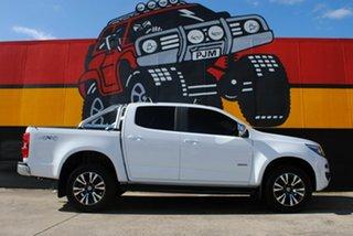 2017 Holden Colorado RG MY18 LTZ Pickup Crew Cab Summit White 6 Speed Sports Automatic Utility.