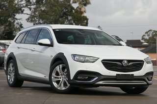 2018 Holden Calais ZB Tourer White 9 Speed Automatic Sportswagon.