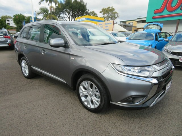 Used Mitsubishi Outlander ZL MY20 ES AWD, 2019 Mitsubishi Outlander ZL MY20 ES AWD Grey 6 Speed Constant Variable Wagon