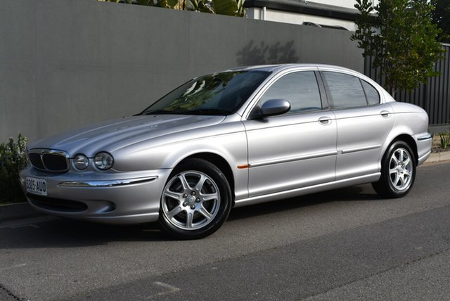 Used Jaguar X-Type X400 , 2003 Jaguar X-Type X400 Silver 5 Speed Automatic Sedan
