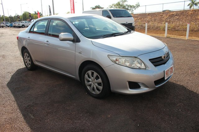 Used Toyota Corolla ZRE152R Ascent, 2009 Toyota Corolla ZRE152R Ascent Silver Pearl 6 Speed Manual Sedan