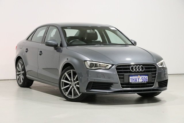 Used Audi A3 8V MY16 1.4 TFSI Attraction CoD, 2016 Audi A3 8V MY16 1.4 TFSI Attraction CoD Grey 7 Speed Auto Direct Shift Sedan