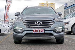 2017 Hyundai Santa Fe DM3 MY17 Active X 2WD Grey 6 Speed Sports Automatic Wagon.