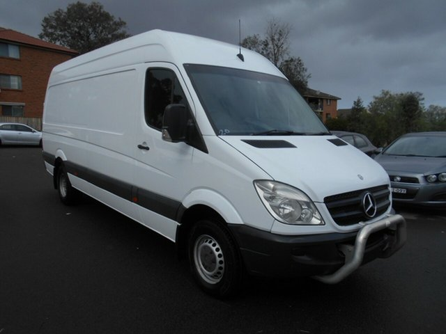 Used Mercedes-Benz Sprinter 906 MY12 416CDI LWB, 2012 Mercedes-Benz Sprinter 906 MY12 416CDI LWB White 7 Speed Automatic Van