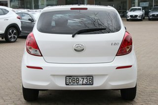 2015 Hyundai i20 PB MY14 Active White Automatic Hatchback