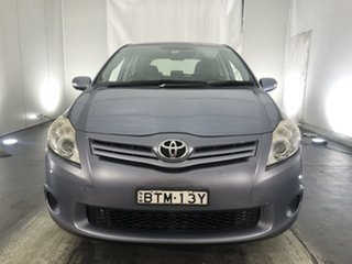 2010 Toyota Corolla ZRE152R MY11 Ascent Grey 6 Speed Manual Hatchback.