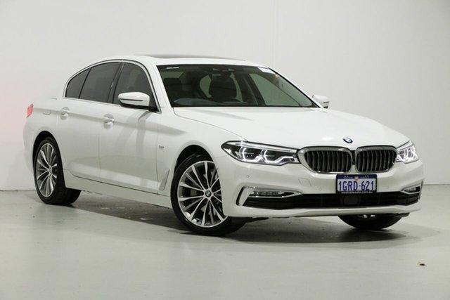 Used BMW 530i G30 MY18 Luxury Line, 2017 BMW 530i G30 MY18 Luxury Line White 8 Speed Automatic Sedan