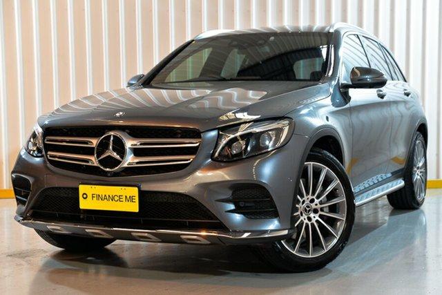 Used Mercedes-Benz GLC250 X253 807MY 9G-Tronic 4MATIC, 2017 Mercedes-Benz GLC250 X253 807MY 9G-Tronic 4MATIC Grey 9 Speed Sports Automatic Wagon