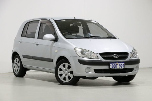 Used Hyundai Getz TB MY09 S, 2011 Hyundai Getz TB MY09 S Silver 4 Speed Automatic Hatchback