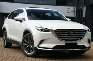 2020 Mazda CX-9 TC Azami SKYACTIV-Drive Snowflake White Pearl 6 Speed Sports Automatic Wagon.