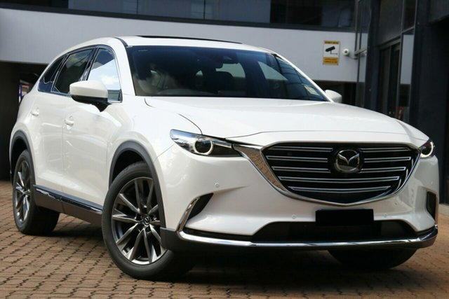 New Mazda CX-9 TC Azami SKYACTIV-Drive Liverpool, 2020 Mazda CX-9 TC Azami SKYACTIV-Drive Snowflake White Pearl 6 Speed Sports Automatic Wagon