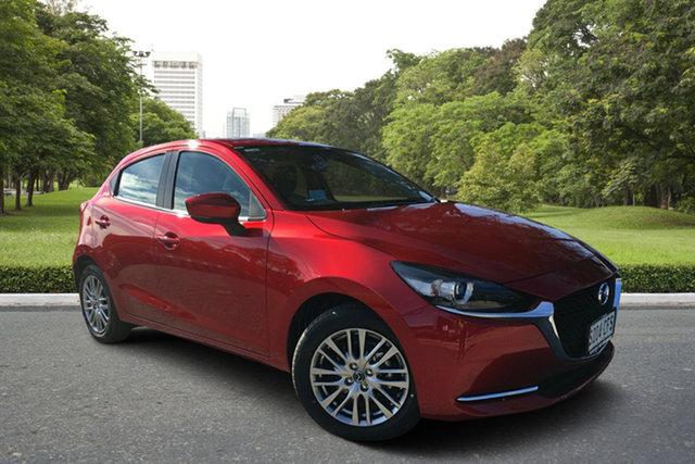 Demo Mazda 2 DJ2HAA G15 SKYACTIV-Drive Evolve, 2020 Mazda 2 DJ2HAA G15 SKYACTIV-Drive Evolve Soul Red 6 Speed Sports Automatic Hatchback