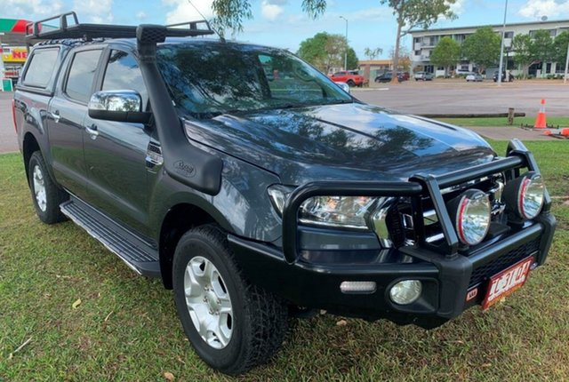 Used Ford Ranger PX MkII XLT Double Cab, 2016 Ford Ranger PX MkII XLT Double Cab Grey 6 Speed Manual Utility