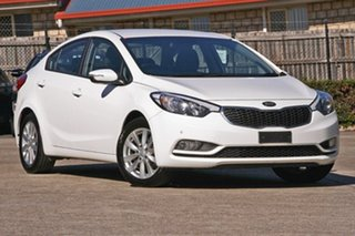 2016 Kia Cerato YD MY17 S Premium White 6 Speed Sports Automatic Sedan.