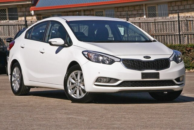Used Kia Cerato YD MY17 S Premium, 2016 Kia Cerato YD MY17 S Premium White 6 Speed Sports Automatic Sedan