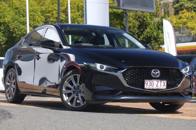 Demo Mazda 3 BP2SLA G25 SKYACTIV-Drive Astina, 2019 Mazda 3 BP2SLA G25 SKYACTIV-Drive Astina Jet Black 6 Speed Sports Automatic Sedan