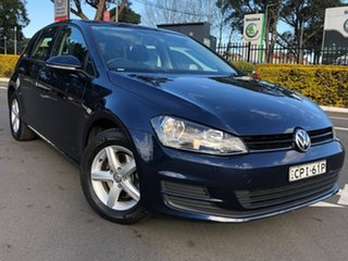 2013 Volkswagen Golf VII MY14 90TSI Blue 6 Speed Manual Hatchback.