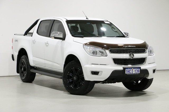 Used Holden Colorado RG MY15 LTZ (4x4), 2015 Holden Colorado RG MY15 LTZ (4x4) White 6 Speed Automatic Crew Cab Pickup