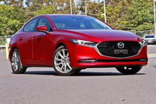 2020 Mazda 3 300N X20 Astina M Hybrid Soul Red Crystal 6 Speed Automatic Sedan.