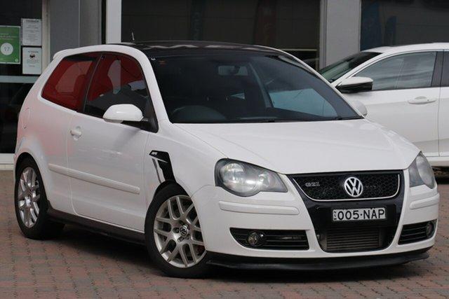 Used Volkswagen Polo 9N MY2008 GTi, 2008 Volkswagen Polo 9N MY2008 GTi White 5 Speed Manual Hatchback