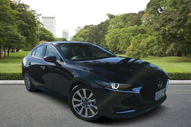 Demo Mazda 3 BP2SHA X20 SKYACTIV-Drive Astina, 2020 Mazda 3 BP2SHA X20 SKYACTIV-Drive Astina Jet Black 6 Speed Sports Automatic Sedan