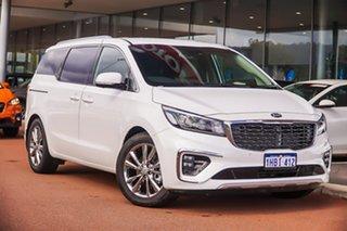 2020 Kia Carnival YP Platinum White Sports Automatic.