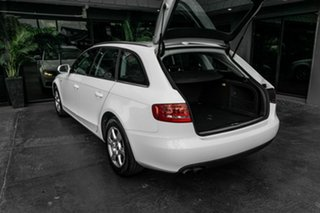 2009 Audi A4 B8 8K MY10 Avant Multitronic White 8 Speed Constant Variable Wagon